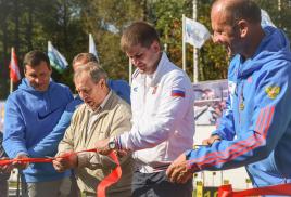 В Орехово-Зуево торжественно открылся комплекс для пневматического биатлона
